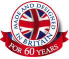Made & Designed in Britain for 60 Years